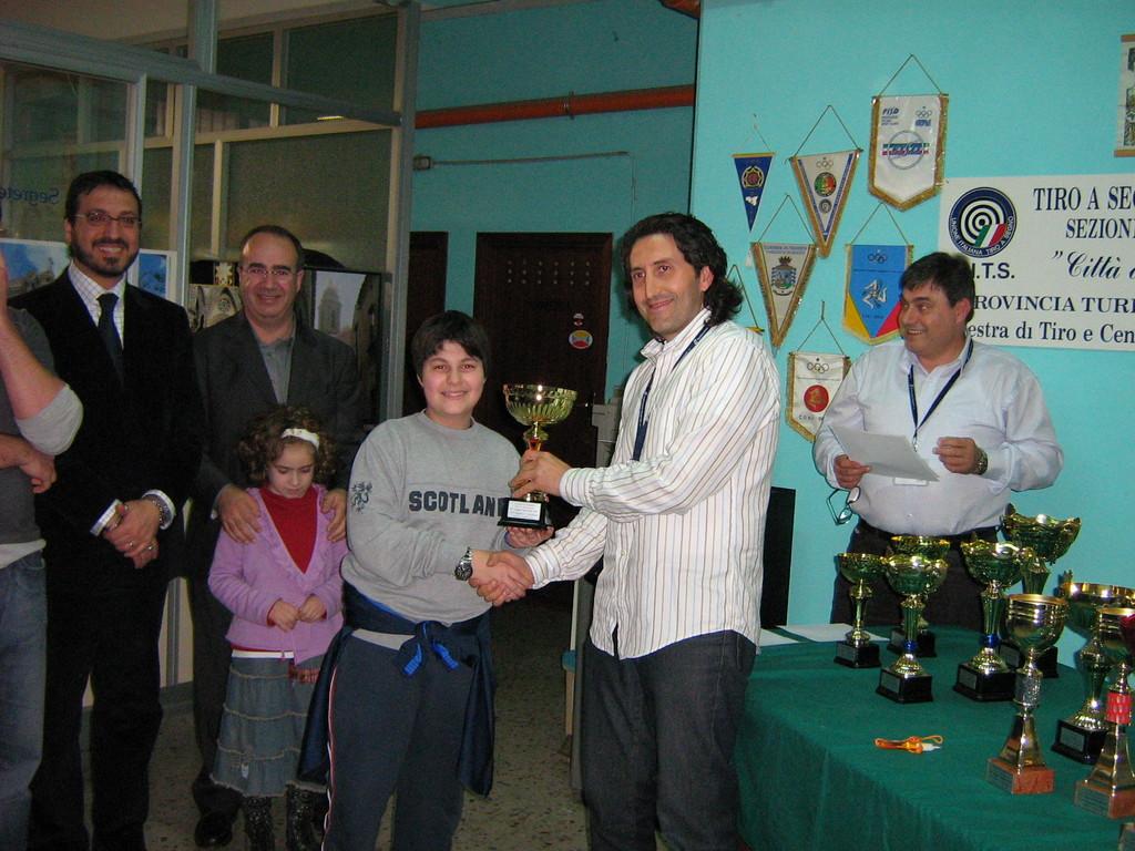 Premiazione Dario Basile