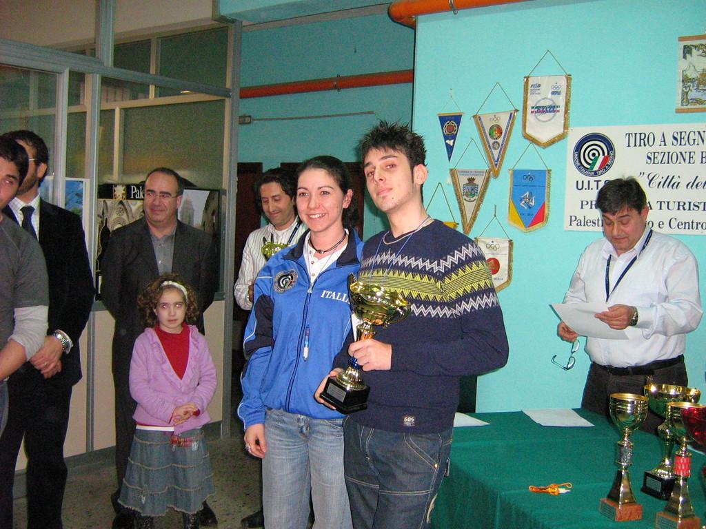 Premiazione Daniele Casanova Barca