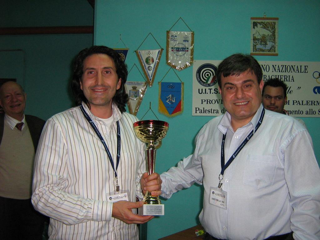 Premiazione Maurizio Vitrano